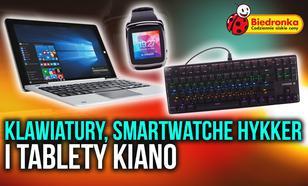 Do Biedronki Zmierzają Smartwatche i Klawiatury od Hykkera Oraz Tablety Kiano