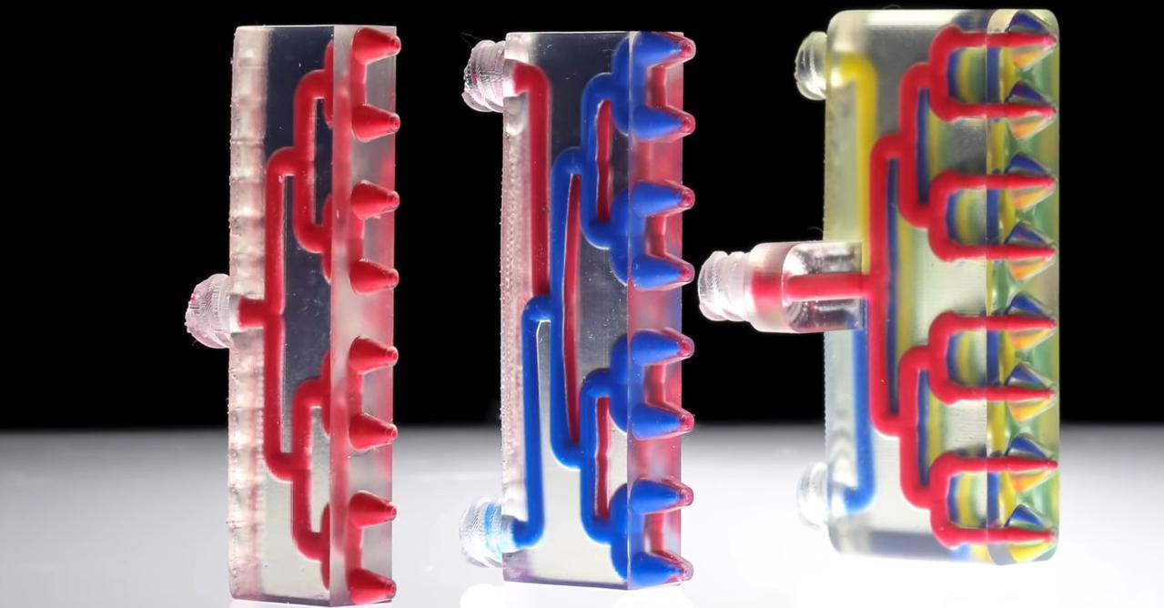 Wielowarstwowy druk 3D z Harvardu jest szybszy dzięki wielokanałowym dyszom