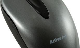 Activejet przewodowa optyczna AMY-005 800dpi szaro-czarny Pozłacane Styki USB