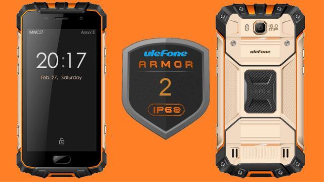 ulefone armor 2 z ip68