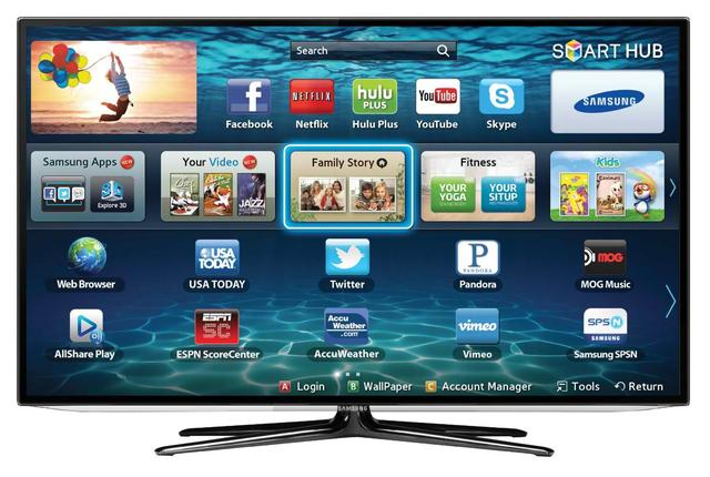 SMART TV w Samsungach TV