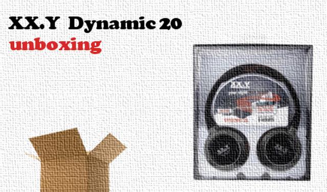 XX.Y Dynamic 20 rozpakowanie słuchawek z wbudowanym odtwarzaczem MP3