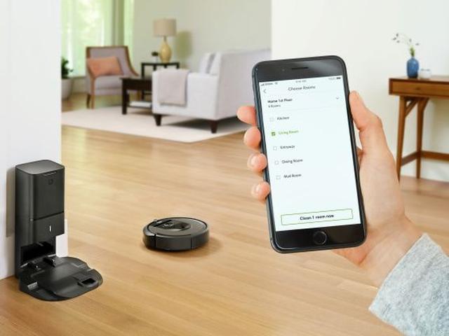 iRobot Roomba i7+ w akcji