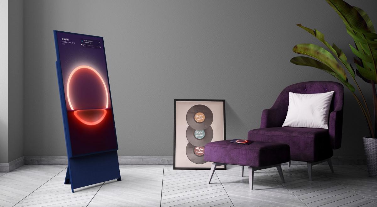 Samsung The Sero w salonie