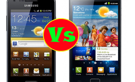 Porównanie: Samsung Galaxy S II vs. Samsung Galaxy S Advance