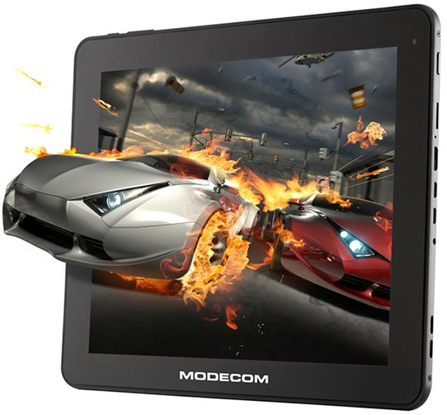 Tablet MODECOM FreeTAB 9702 IPS X2 dostępny z Androidem 4.1.1 Jelly Bean