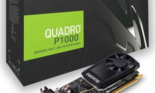 PNY Technologies Quadro P1000 4GB GDDR5 (VCQP1000DVIV2-PB)