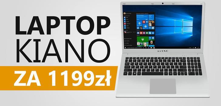 Kiano SlimNote 15,6 HDD - Test Taniego Laptopa do Szkoły i nie Tylko