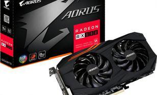 Gigabyte Radeon RX 580 AORUS 8GB GDDR5 (256 bit), DVI-D, HDMI, 3xDisplayPort, BOX (GV-RX580AORUS-8GD)