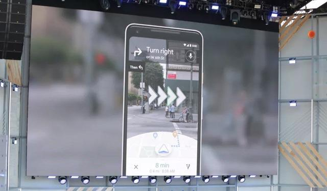 Rozszerzona rzeczywistość w Google Maps