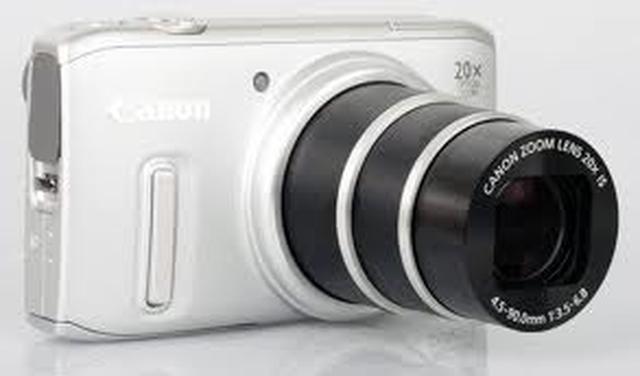 CANON PowerShot SX240 HS - uniwersalny aparat fotograficzny