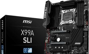 MSI X99A SLI s2011-3 X99 8DDR4 USB3.1 ATX