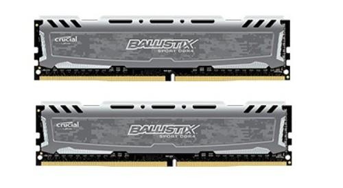 Crucial DDR4 Ballistix Sport LT 8GB/2400(2*4GB)CL16 SRx8
