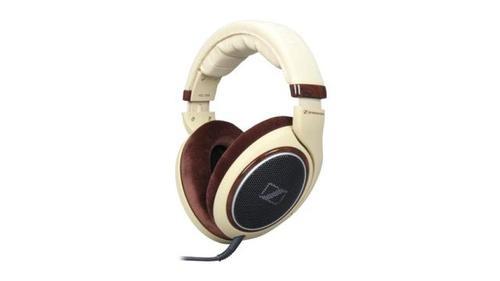 Słuchawki wokółuszne Sennheiser HD598 (Beżowo-brązowe)