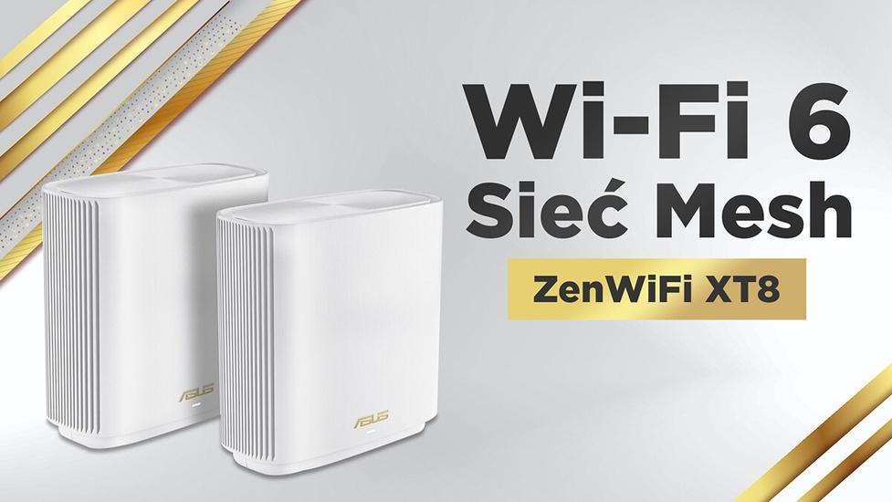 Szybszy internet z routerem Wi-Fi 6? Asus ZenWiFi