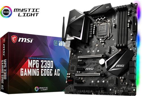 MSI MPG Z390 GAMING EDGE AC s1151 4DDR4 HDMI/DP ATX