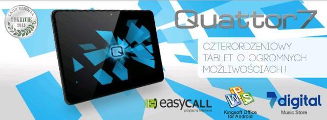 Przełomowa kolekcja tabletów czterordzeniowych Quattor od OVERMAX!