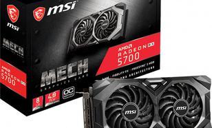 MSI Radeon RX 5700 MECH OC 8GB GDDR6 (RX 5700 MECH OC)