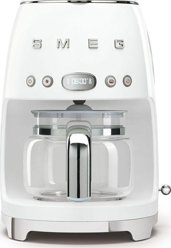 Smeg Ekspres do kawy, przelewowy, biały Smeg DCF02WHEU