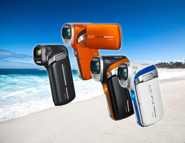 Panasonic wprowadza nową odporną na pył i wodę kamerę wideo Full HD