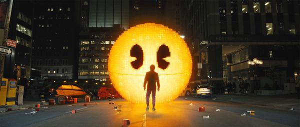 Scena z filmu Pixele