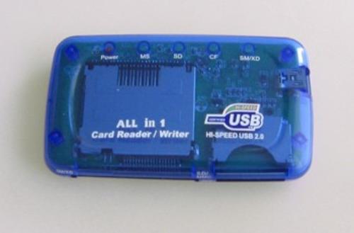 GEMBIRD CZYTNIK GMB kart flash 26w1 USB 2.0