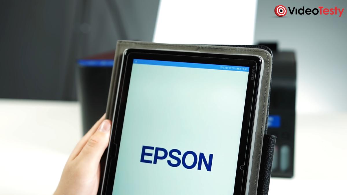 Aplikacja współpracująca z drukarką Epson EcoTank L3151