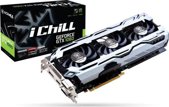 Inno3D GeForce GTX 1060 iChill X3, 6GB GDDR5, 192-bit