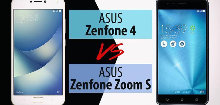 ASUS Zenfone 4 vs ASUS Zenfone Zoom S - Porównanie Smartfonów ASUS