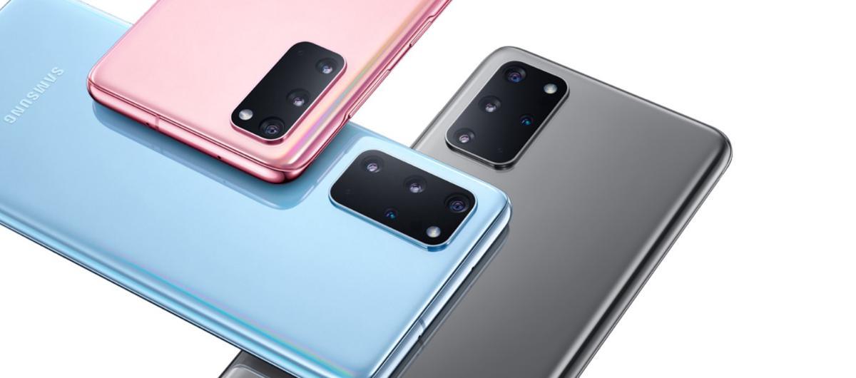 Samsung Galaxy S20 wykonano głównie ze szkła