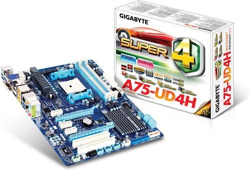 GIGABYTE A75-UD4H