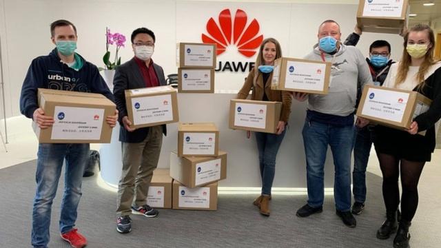 Huawei pomaga polskim szpitalom