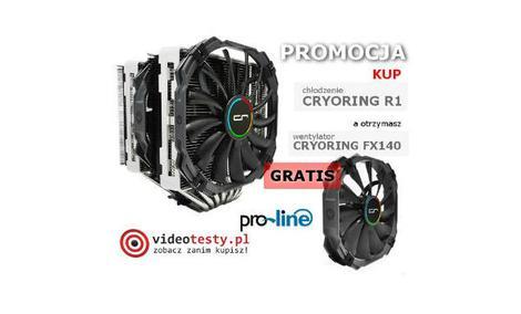 PROMOCJA - GRATIS wentylator firmy Cryorig