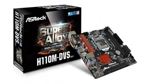 Asrock H110-M DVS R3.0