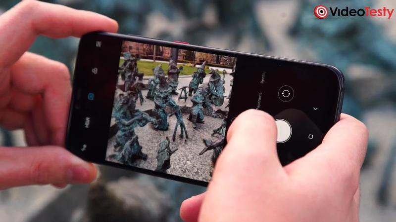 Mi 8 Pro aplikacja aparatu