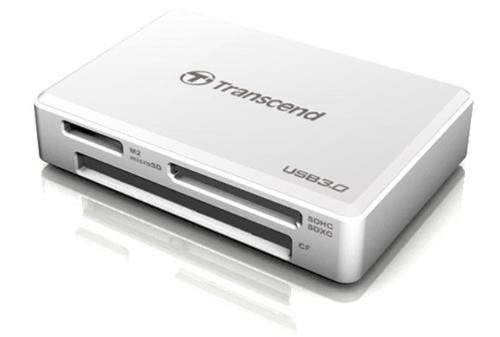 Transcend USB3.0 ALL-in Multi Card Reader TS-RDF8W