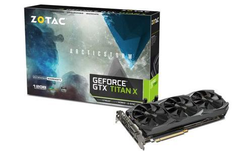 ZOTAC GeForce GTX Titan X ArcticStorm