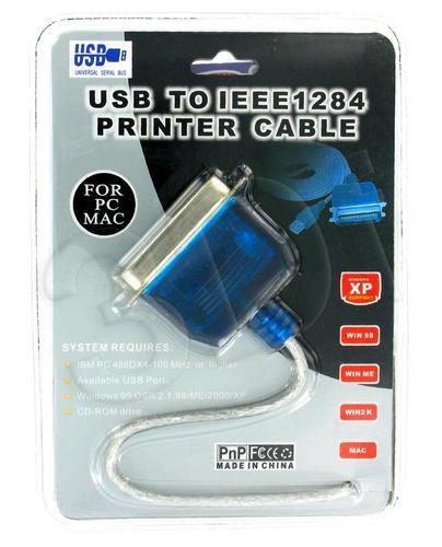 4World ADAPTER PORT PARALLEL (DRUKARKA) NA USB