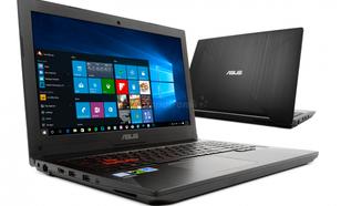 Asus FX503VD i5-7300HQ 12GB 240SSD+1TB GTX1050 W10