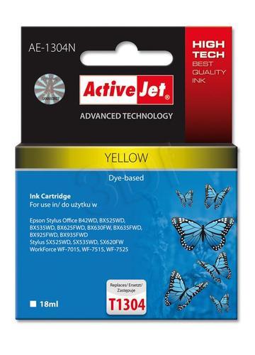 ActiveJet AE-1304N tusz żółty do drukarki Epson (zamiennik Epson T1304) Supreme