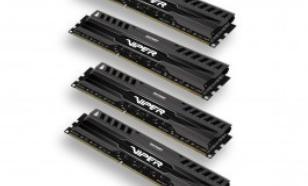 Patriot DDR3 32GB (4x8GB) Viper 3 1600MHz CL9 XMP