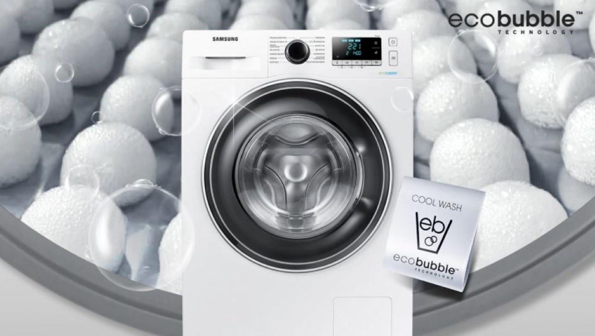 Samsung WW70J5346EW eco bubble