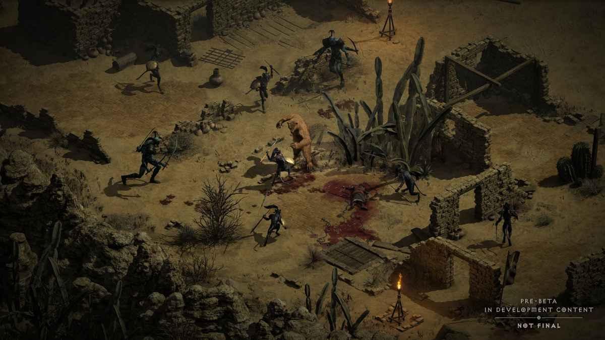 Diablo II: Resurrected - Pozdrowienia z 2 aktu