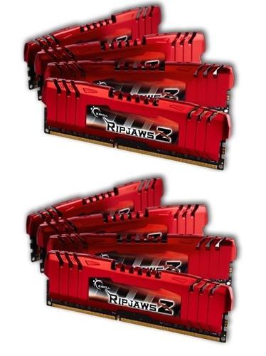 G.SKILL DDR3 64GB (8x8GB) RipjawsZ 1600MHz CL10 XMP