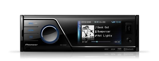 Pioneer MVH-8200BT - Odtwarzacz do Samochodu z Bluetooth