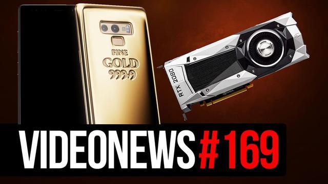 Złoty Note9, ceny RTX 2080, GPU od Intela - VideoNews 169