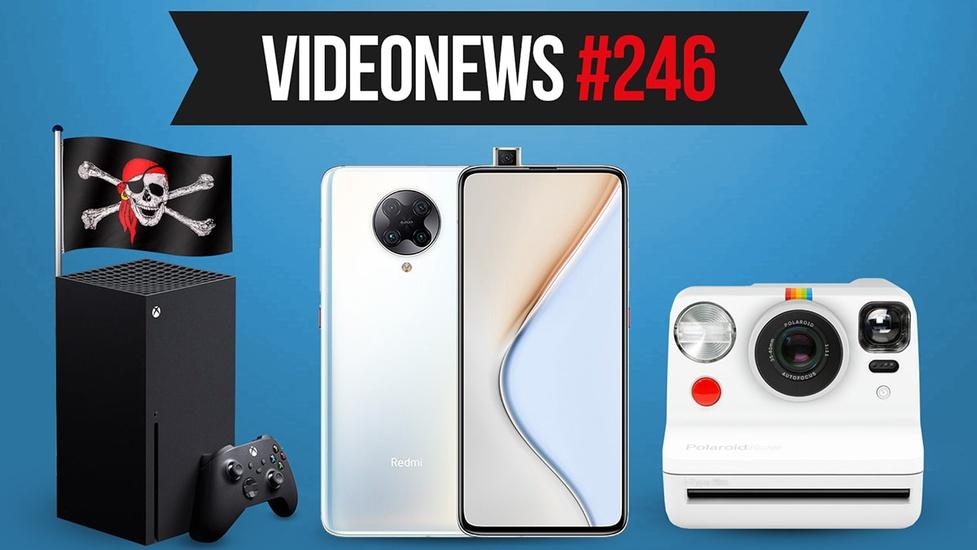 Xbox Series X zhakowany, nowe smartfony, szybkie testy na COVID19 - VideoNews #246