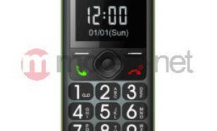 Maxcom MM 560 BB Poliphone/Big button zielono czarny