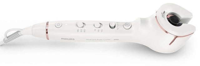 prezent dla mamy na święta - lokówka automatyczna PHILIPS HPS950/00 ProCare Auto Curler Ionic