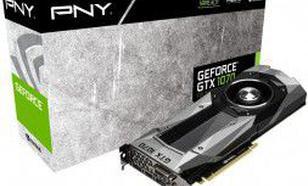 PNY Technologies GeForce GTX 1070 Founders Edition 8GB GDDR5 (256 Bit) 3xDP, HDMI, DVI-D, BOX (GF1070GTX8GRPB)